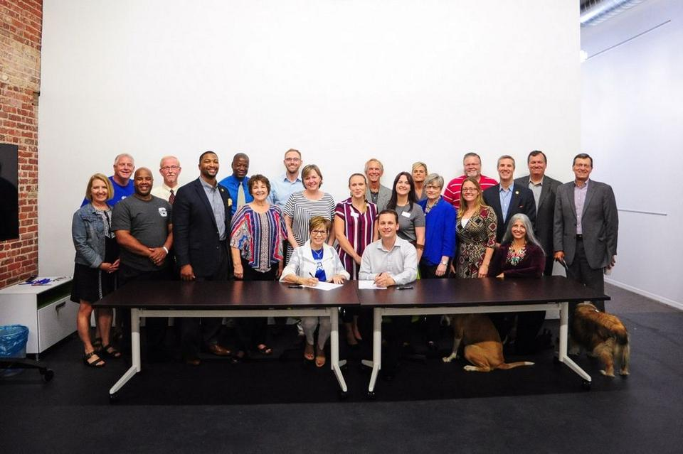Blue zones project pottawatomie county steering committee signs blue malvernweather Gallery